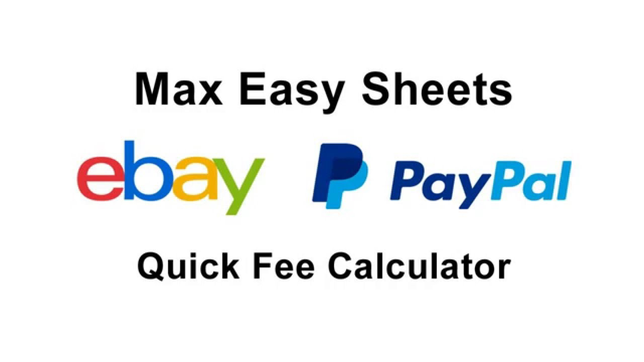Ebay Paypal Fee Calculator Us