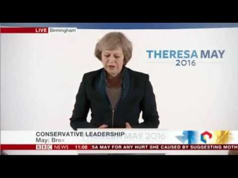 Theresa May 'at the service of ordinary working people'