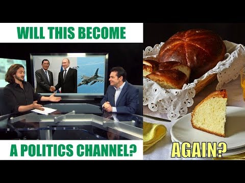 Politics / Baking: the future format of this channel?