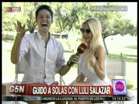 C5N - VIVA LA TARDE: GUIDO ZAFFORA ENTREVISTA A LULI SALAZAR