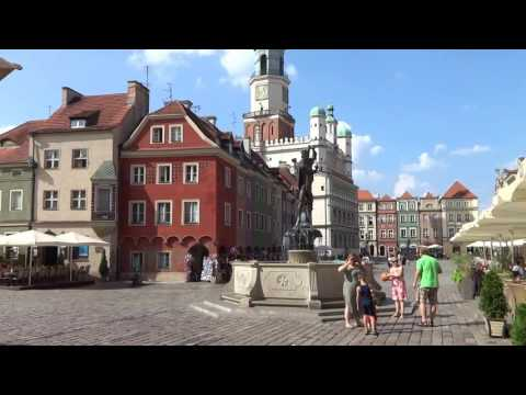 видео: По улицам Познани
