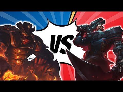 High Noon Darius vs Gangplank