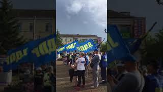 Выступление и.о. координатора РО ЛДПР в ЕАО Пиляева Ивана Сергеевича на митинге 22 августа 2018 года