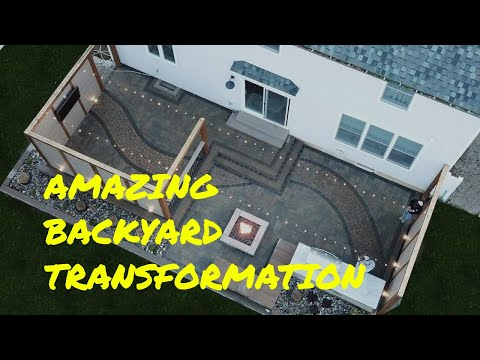 Complete Backyard Patio Transformation From Start To Finish – Farwood Project