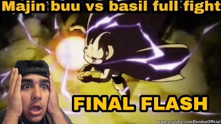 Majin buu vs basil full fight dragon ball super ep 79 HD english sub