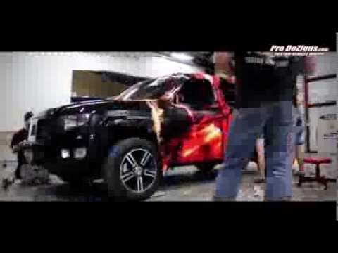 Prodezign Custom Vehicle Wraps Youtube