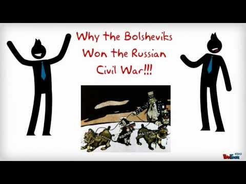 Why the Bolsheviks won the Russian Civil War