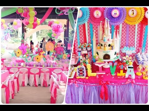 Decoracion De Fiestas Infantiles De Princesas Disney Happy