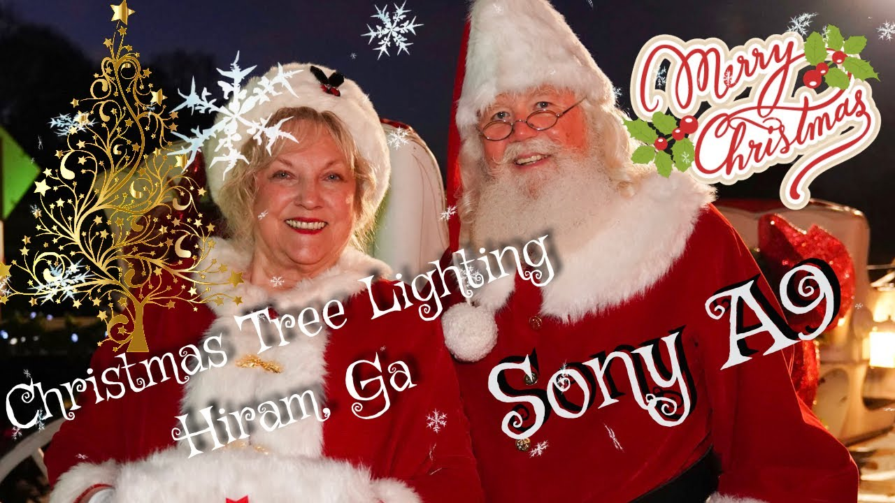 Christmas Tree Lighting In Historic