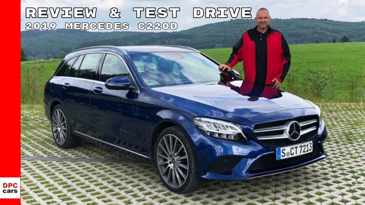 2019 mercedes c220d wagon c-class review  u0026 test drive