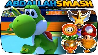 Mario Tennis Aces - ALL Tournament Trophies With Yoshi! [Nintendo Switch]