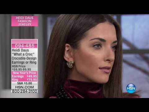 HSN | Heidi Daus Fashion Jewelry 01.25.2017 - 07 PM