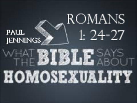 Book romans homosexuality