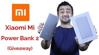 Xiaomi Mi Power Bank 2 (10000mAh) Review and Giveaway
