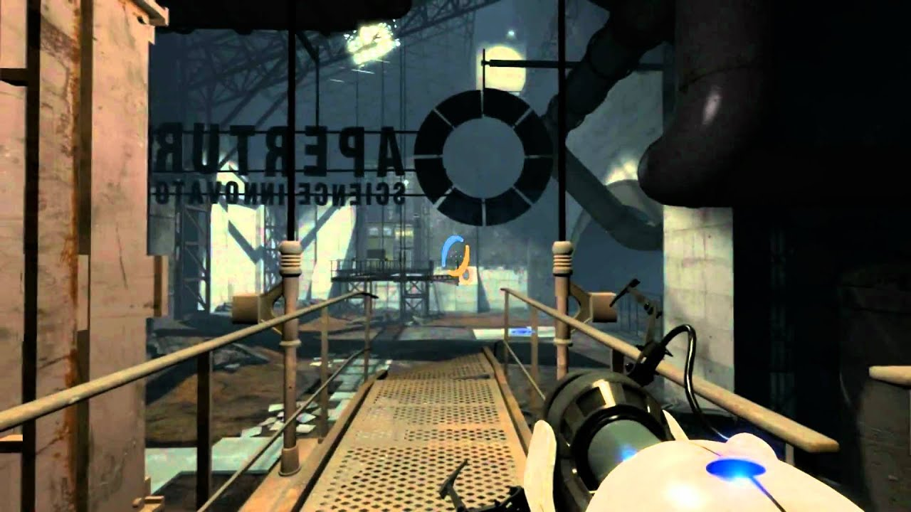 Walkthrough Hd Portal 2 Chapter 6 Old Aperture Entrance Youtube