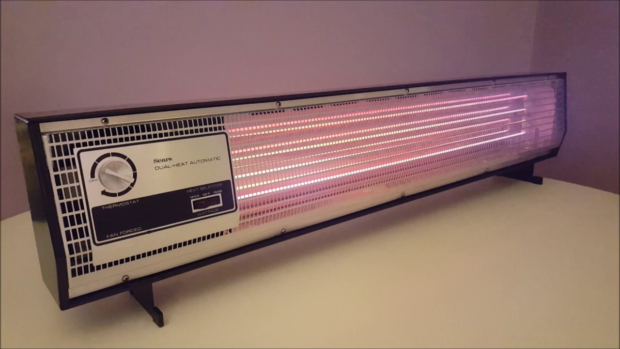 sears portable electric baseboard heater - Electric Baseboard Heater