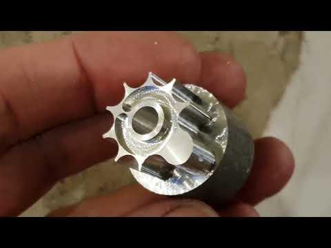 Artemis P15 Clip core .22 after machining