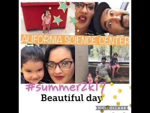 Fuimos al Museo⎮We visited California Science Center. Vlog 0048