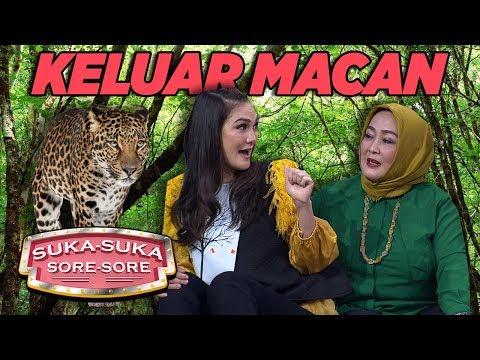 Luna Maya, Ayu Dewi Dipijitin Keluar MACAN!  - Suka Suka Sore Sore (17/1) PART 4