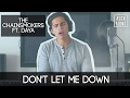 Don't Let Me Down by The Chainsmokers ft. Daya | Alex Aiono Cover video & mp3