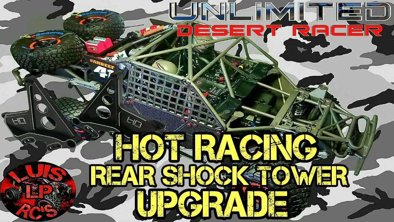 Traxxas UDR Hot Racing Shock Tower Upgrade