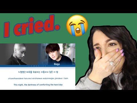 LeeSoRa(이소라) - Song Request(신청곡) Feat. Suga - Lyric Reaction