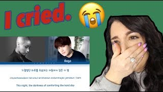 LeeSoRa Song request Feat Suga Lyric Reaction