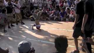 Pick Action Crew [ピックアクション] B-BOY PARK U-20 Crew Battle 2013.08.18