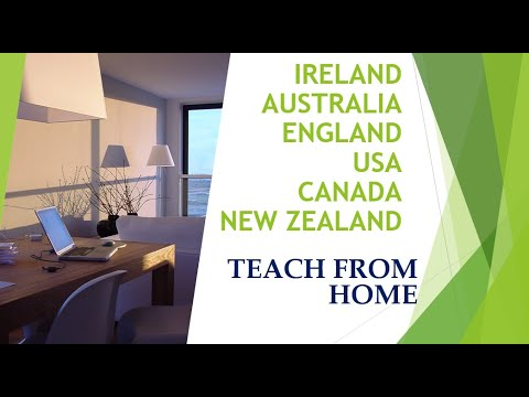 Teach From Home ~ Many Subjects ~ Great Pay ~ Growing Company