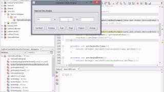 Operasi Dua Angka Pada Java Netbeans