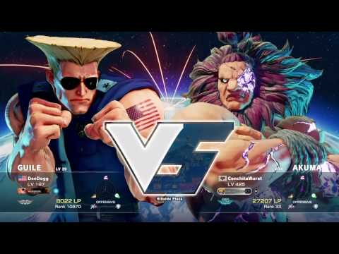 STREET FIGHTER V SET – TFA | DeeDogg vs EG | ChrisG