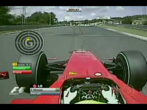 Acidente Felipe Massa