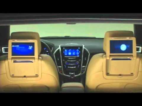 srx rear seat entertainment youtube. Black Bedroom Furniture Sets. Home Design Ideas