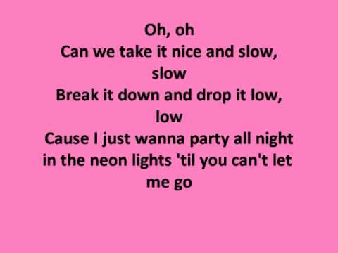 Slow down-Selena Gomez (lyrics)