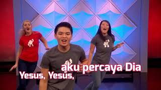 Gerakan & Lagu Sekolah Minggu Superbook Tis so Sweet to Trust in Jesus Superbook Indonesia
