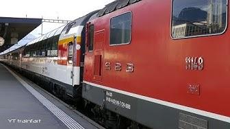 Zug Landquart Abfahrt IC3 nach Zürich