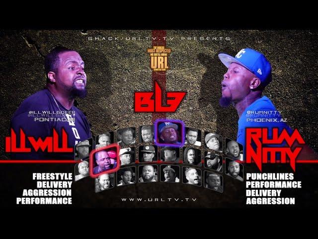 Ill Will vs Rum Nitty