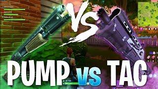 Fortnite In Depth: Pump vs. Tactical Shotgun (Shotgun Tips)