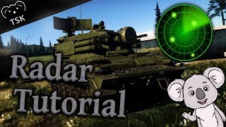 War Thunder Tutorial | How to Use Radar | 1.87 Locked On New Mechanics Explained