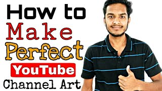 how to make youtube channel art  how to create YouTube banner  Best YouTube tips in hindi