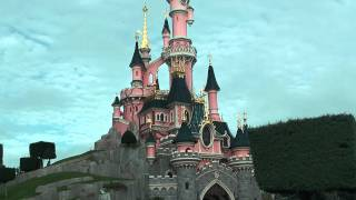 Диснейленд, центральный замок (Франция, Париж)
