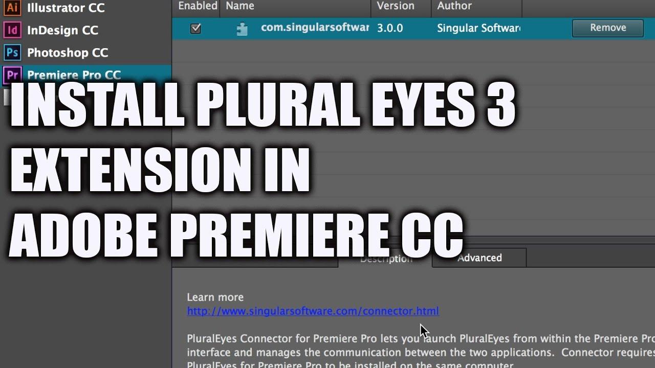 Pluraleyes 3.5 торрент premiere cc