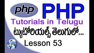 PHP Tutorials in Telugu - Lesson 53 - GD Library - Creating Captcha Entry Program