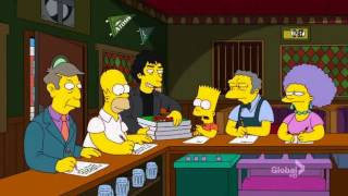 Music Theme from The Simpsons Season 23 Episode 6 The Book Job