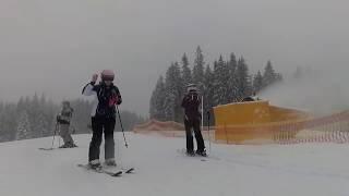 Открытие подъёмников первый день Буковель Сезон 2017 2018 Bukovel