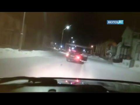В Олекминске инцидент с пьяным водителем и сотрудниками ГИБДД, попал на видео