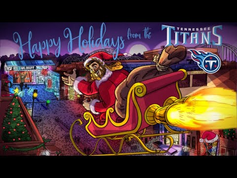 Merry Christmas and Happy Holidays from the Tennessee Titans!