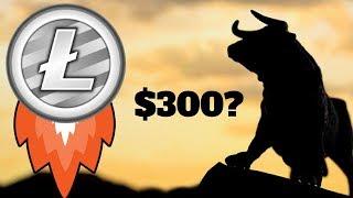 LITECOIN PRICE ROCKET $300 SOON? Huge Spike In Volume | Bull Run?