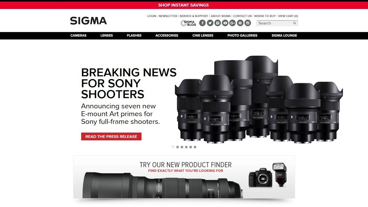 New Sigma Art lenses for Sony E mount Full Frame cameras like the ...