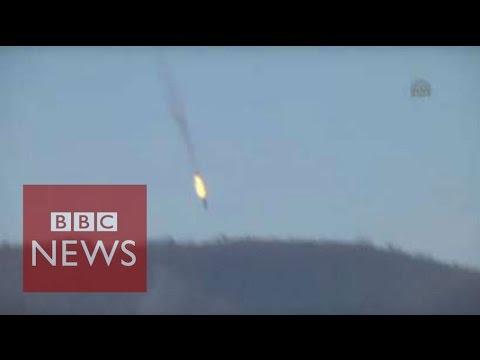 Turkey 'shoot down warplane on Syria border' - BBC News